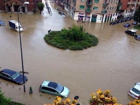 Il consumo di suolo e la cementificazione allagano Milano!