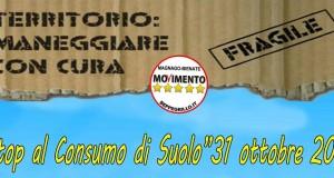 """""""Stop Consumo di Suolo"""" appuntamento sabato 31 ottobre a Magnago"""