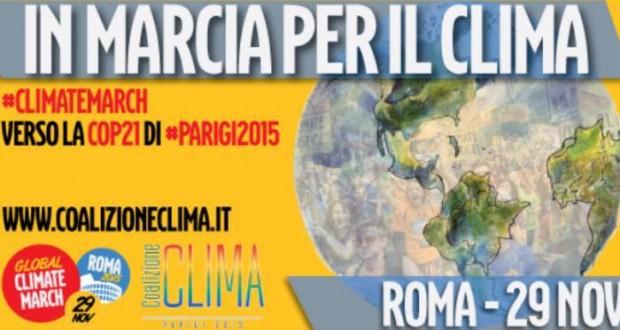 Domenica 29 novembre tutti in marcia per il clima