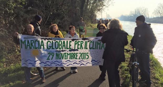 La Marcia per il Clima: da Abbiategrasso a Robecco