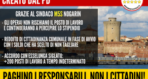 """LIVORNO, M5S: """"STRUMENTALIZZAZIONE VERGOGNOSA"""""""