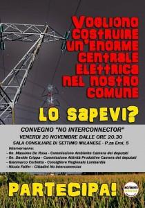 Evento Interconnector Centrale Settimo