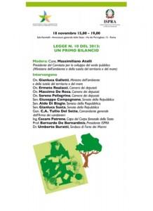 Stati generali verde urbano verticale De Rosa