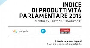 Quanto lavorano i parlamentari? Il dossier di Openpolis