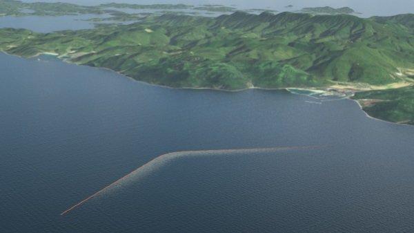The Ocean Cleanup Array sfida all'inquinamento dei mari