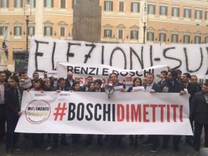 Protesta banche