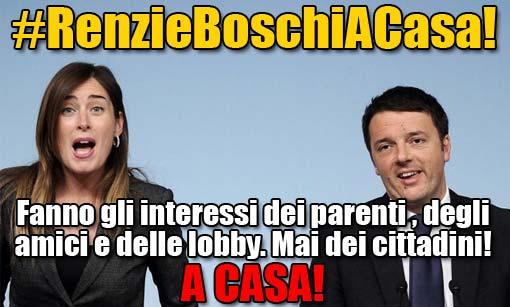 Guidi, Boschi, De Vincenti e Renzi: sono tutti coinvolti, il governo si dimetta