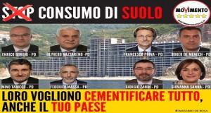 Consumo di Suolo: l'emendamento del PD che devasterà le vostre città
