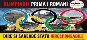 Olimpiadi Roma, un NO coerente e responsabile