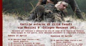 """Presidio Anpi contro i nazisti in Villa Casati, M5S: """"I valori della resistenza appartengono a tutti, saremo in piazza senza bandiere"""""""