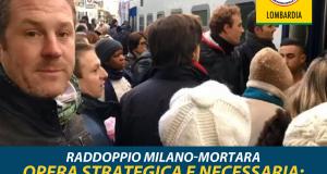 """Raddoppio Milano-Mortara M5S: """"Opera strategica e necessaria, la Giunta si impegni pubblicamente"""""""