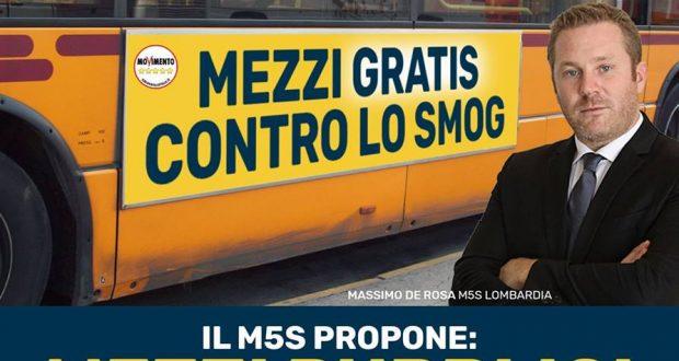 PM 10 FUORI CONTROLLO: MEZZI PUBBLICI GRATUITI CONTRO L'INQUINAMENTO!