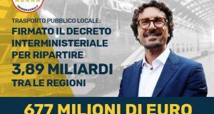 IL #M5S INVESTE NEL TRASPORTO PUBBLICO