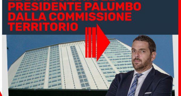 Richiesta di dimissioni del Presidente della Commissione permanente Territorio e Infrastrutture – Angelo Palumbo