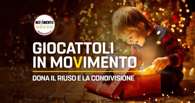 Valentina Giglioni (M5S): CON GIOCATTOLI IN MOVIMENTO METTIAMO IN CAMPO RIUSO E RICICLO PER I NOSTRI BAMBINI