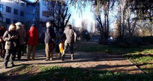 """Presidio Via Bassini, gli studenti entrano in cantiere: """"Salviamo il parco e ri-discutiamo un progetto condiviso"""""""