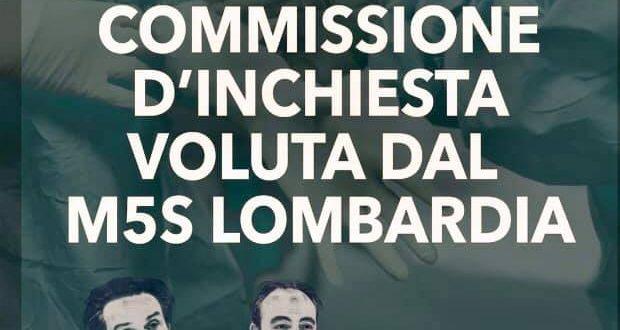 CORONAVIRUS – AL VIA LA COMMISSIONE D'INCHIESTA IN LOMBARDIA
