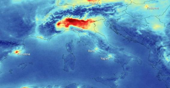 In Pianura Padana l'84,7% dei morti per Covid-19