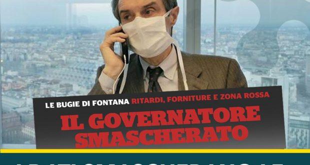 Dati dicono che Lombardia è responsabile per le scorte di materiale sanitario
