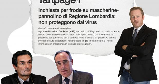 """Procura di Milano apre inchiesta sulle mascherine di Regione Lombardia: """"Sarebbe gravissimo se avessero mandato pannolini a medici e infermieri"""""""
