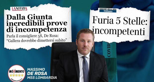 Diciamo basta all'incompetenza di Fontana e Gallera