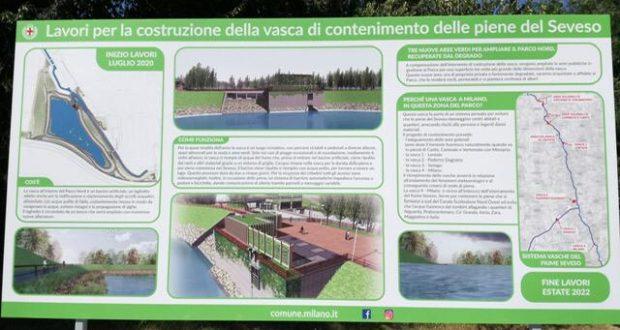 """Vasca laminazione parco Nord: """"Preoccupati dalla decisione del Comune di Milano"""""""