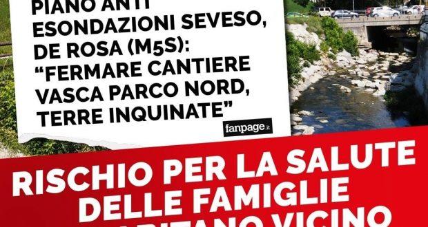 """Vasca laminazione Parco Nord, ho scritto al sindaco Sala: """"Fermate il cantiere, non muovete terre inquinate"""""""