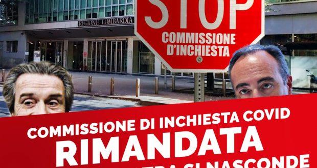 """Commissione inchiesta Covid rinviata: """"È  necessario cominciare subito, aumento casi impone ripensamento strategia"""""""