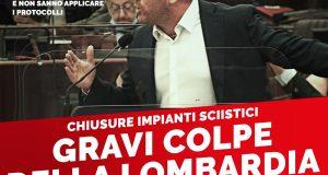 TUTTI DEVONO SAPERE CHE LA RESPONSABILITA' E' DI REGIONE LOMBARDIA