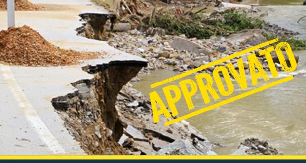 Grazie al M5S stanziati due milioni di euro per prevenire il dissesto idrogeologico