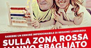 Regione Lombardia sbaglia i calcoli e costa ai cittadini una settimana di lockdown