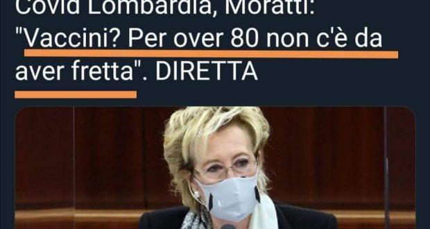 Piano vaccini over 80 in Lombardia: Modello Moratti-Bertolaso, storia di un fallimento
