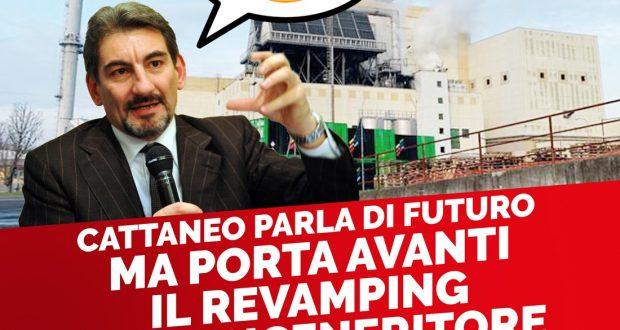 """ACCAM: """"CATTANEO PARLA DI FUTURO, MA PORTA AVANTI IL REVAMPING DI UN INCENERITORE FALLITO"""