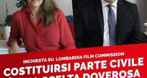 Grave errore non costituirsi parte civile nel processo Lombardia Film Commission