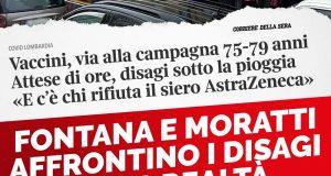 CAOS VACCINI HUB DI BAGGIO: Fontana e Moratti affrontino i disagi della realtà, invece di fare promesse che non sanno mantenere