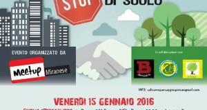 Stop Consumo di Suolo – dialogo aperto a Spinea