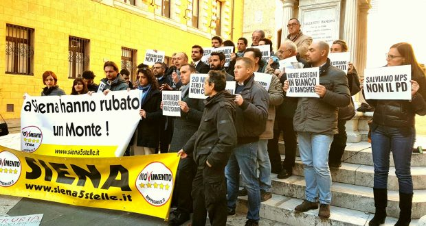 #DecretoBanchette il M5S a Siena