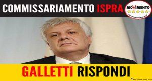 Commissariamento ISPRA: Galletti rispondi
