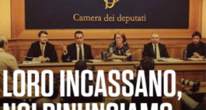 Presidente Boldrini, rinunciamo alla nostra pensione