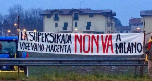 """No alla superstrada Vigevano-Malpensa: """"Vogliamo investire sul territorio, non sul cemento"""""""