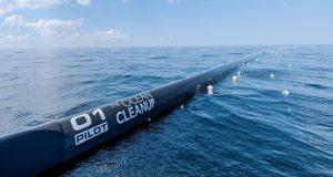 Ocean Clean Up al via la sperimentazione in mare