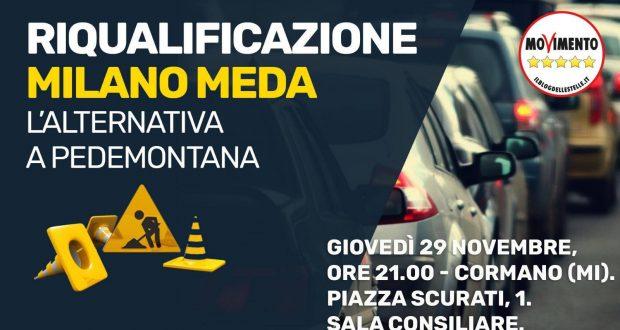 """Riqualificazione Milano-Meda: l'alternativa a Pedemontana"""