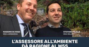"""""""Collinette"""" Melzo, Regione d'accordo con M5S: """"Il Comune proceda alla rimozione"""""""