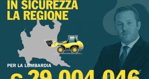 """29 milioni di euro per la Lombardia: """"Apriamo i cantieri contro il dissesto idrogeologico"""""""