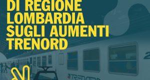 AUMENTI TRENORD: Regione Lombardia torna sui propri passi e promette compensazioni!