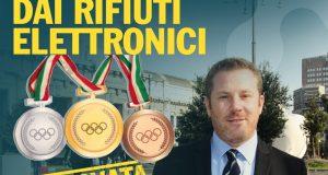Olimpiadi Milano-Cortina 2026, sì alla mozione: le medaglie dai rifiuti elettronici. Ora lavorare per Olimpiadi plastic free