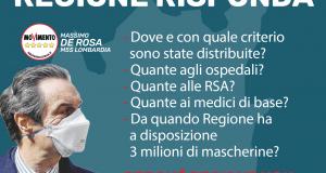 M5S Lombardia, Caparini non confonda le acque: pubblichi i dati della Lombardia per salvare vite umane e pensare al dopo