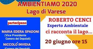 """Sabato a Gavirate (Varese): """"Ambientamo 2020"""", la manifestazione per il lago di Varese"""""""