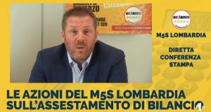"""Assestamento al Bilancio della Lombardia: """"Salute, lavoro legalità: centinaia di proposte concrete per sostenere i lombardi""""."""
