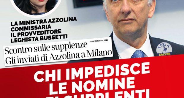 """Scuola, Ministero manda Commissari a Milano: """"Intervento doveroso""""."""